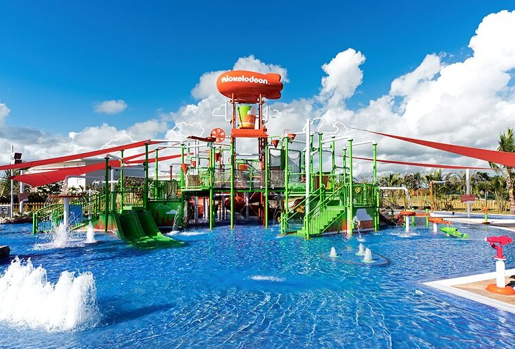 Infinity-pool Nickelodeon Hotels & Resorts Punta Cana All Inclusive Vacations