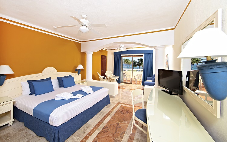 Pool-and-beach Grand Bahia Principe Tulum All Inclusive Vacations