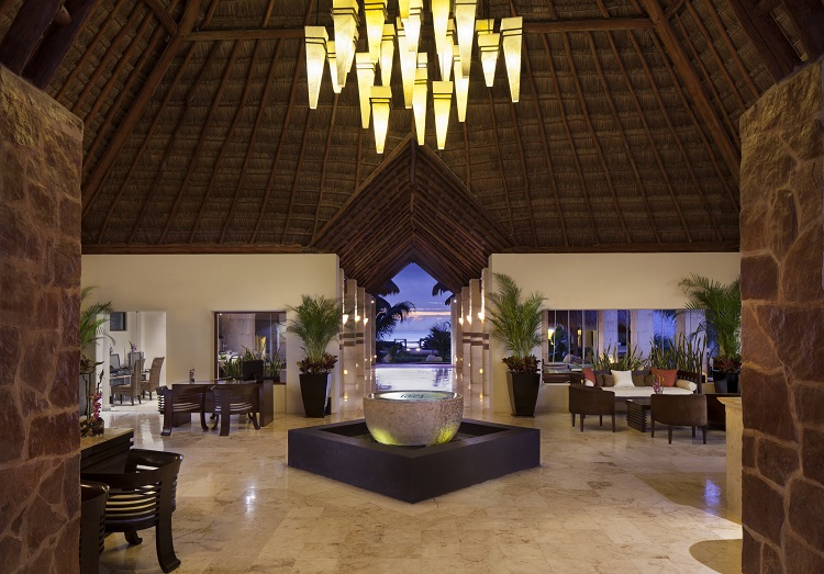 Lobby-2 Azul Beach Resort Riviera Maya All Inclusive Vacations